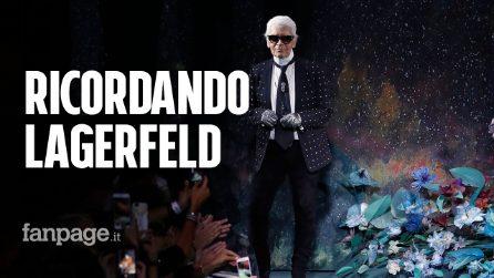 La moda ricorda Karl Lagerfeld: dal tributo di Fendi ai ricordi di Eva Herzigova e Piccioli