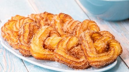 Churros hearts: a Valentine's Day special recipe!