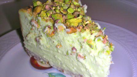 Cheesecake al pistacchio: un dessert cremoso e delizioso