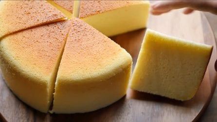 Cotton cheesecake: buonissima e soffice come una nuvola