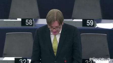 "L'attacco di Verhofstadt a Conte: ""Burattino di Di Maio e Salvini"""