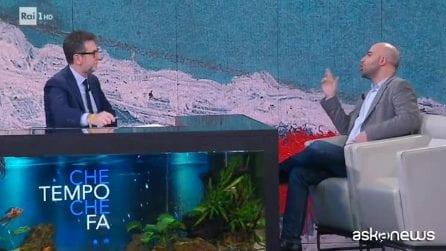 """Saviano: """"Odio è indistinto. Non sei ricco? imperdonabile"""""""