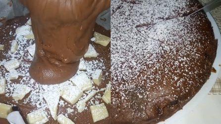 Torta al cioccolato senza uova: un dessert da acquolina in bocca