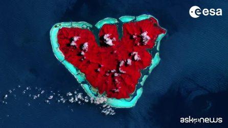 San Valentino, le immagini Esa dallo Spazio: amate la Terra
