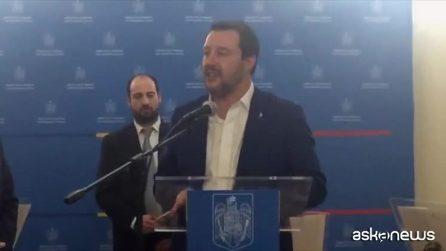 """Salvini: """"Stiamo cercando di mettere il sangue dentro questa Ue"""""""