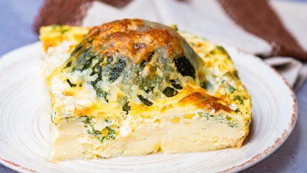 Torta di uova e zucchine: sfiziosa e piena di gusto!