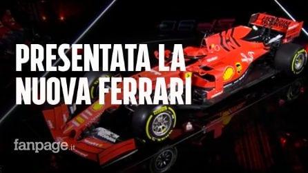 Ferrari: ecco la nuova monoposto SF90, omaggio ai 90 anni della Rossa di Maranello