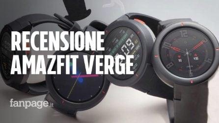 Recensione Amazfit Verge, lo smartwatch per lo sport più completo (ed economico)