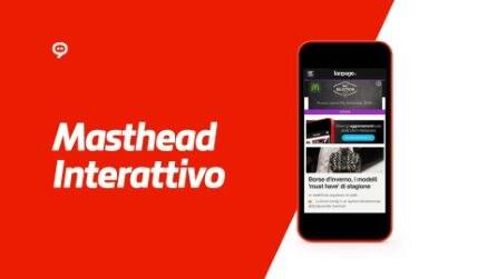 Masthead Interattivo Mobile per McDonald's