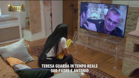 Uomini e Donne, il padre di Teresa Langella incontra Andrea Dal Corso e Antonio Moriconi