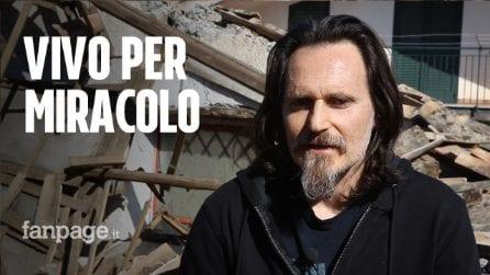 """Stefano senza casa né lavoro dopo il terremoto: """"Sono distrutto, aiutatemi a ricostruire la cartiera"""""""