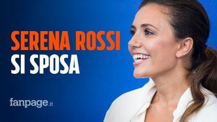 """Serena Rossi si sposa con Davide Devenuto: proposta di matrimonio in diretta a """"Domenica in"""""""