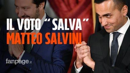 """Caso Diciotti: gli iscritti del Movimento 5 Stelle """"salvano"""" Matteo Salvini dal processo"""