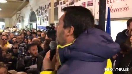 """Caso Diciotti, Salvini: """"Sono la persona più tranquilla del mondo"""""""