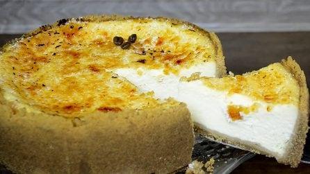 Creme brulée cheesecake: due fantastiche ricette in un unico dessert