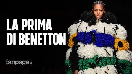 """Milano Fashion Week, la prima sfilata di Benetton: """"La nostra è una moda democratica"""""""