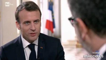 Macron: ho conosciuto mia moglie grazie ad Eduardo de Filippo