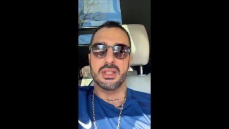 """Corona giustifica il video contro Riccardo Fogli: """"Non sono così nell'anima"""""""