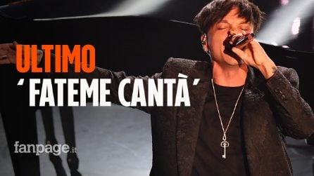 """Dopo il Festival di Sanremo arriva il nuovo singolo di Ultimo: """"Fateme Cantà"""""""