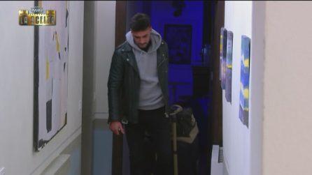Lorenzo lascia il castello nella notte prima della scelta