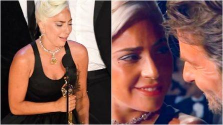 Oscar 2019, la storia di Lady Gaga è da brividi come il duetto con Bradley Cooper