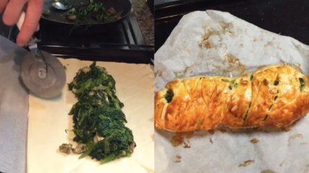 Treccia rustica broccoli e salsiccia: una vera prelibatezza per il tuo palato