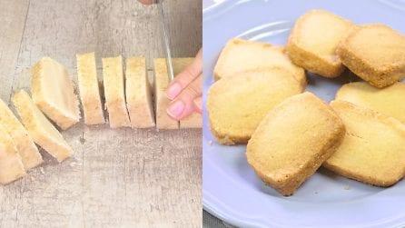 Biscotti al burro: solo tre ingredienti per i morbidi biscotti da tè inglesi!