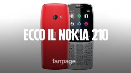 Ecco il Nokia 210: 20 giorni di batteria, 2.5 G e costa 39 euro