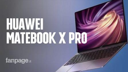 Ecco il nuovo Huawei MateBook X Pro: tutto sulla punta di diamante dei computer portatili