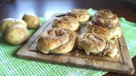 Girelle di patate con pasta matta: un ripieno gustoso in un involucro croccante