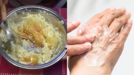 Crema idratante mani alle patate: naturale ed efficace