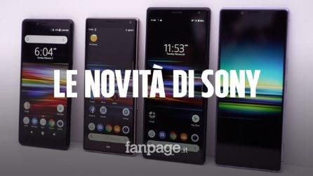 Tutto su i nuovi smartphone Sony: l'Xperia 1 è il primo con display OLED 4K HDR in 21:9