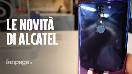 Alcatel 3, 3L, 1S e Tablet 10: tutte le novità di TCL al Mobile World Congress