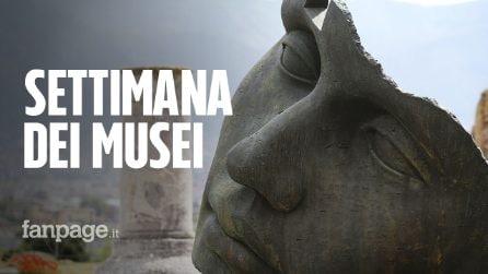 """""""Settimana dei Musei"""": dal 5 al 10 marzo musei e siti archeologici gratis in tutta Italia"""