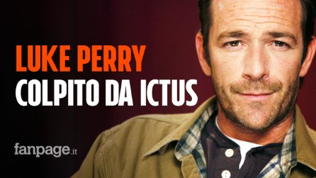 Luke Perry colpito da ictus, corsa in ospedale per il Dylan di Beverly Hills 90210