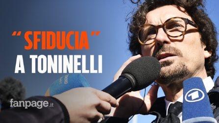 """Tav, il Pd presenta una mozione di sfiducia contro il ministro Danilo Toninelli: """"Deve dimettersi"""""""