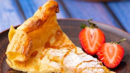 Dutch baby pancake: soffice e irresistibile, ecco la ricetta originale!