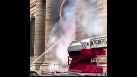 Parigi, evacuata chiesa di Saint-Sulpice per un incendio