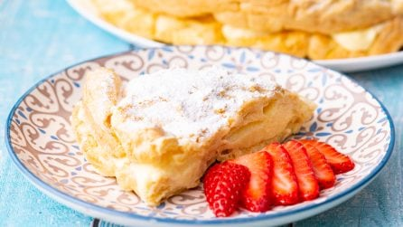 Karpatka: the traditional polish cake fluffy and easy!