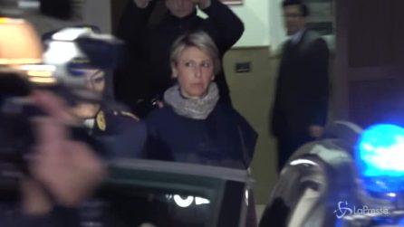 Femminicidio Messina, l'uscita del killer dalla questura