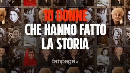 Festa della donna: 10 donne che hanno fatto la storia con il loro coraggio
