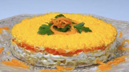 Torta insalata mimosa: l'alternativa salata che vi stupirà