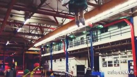La macchina di Rube Goldberg da record, è la più grande al mondo