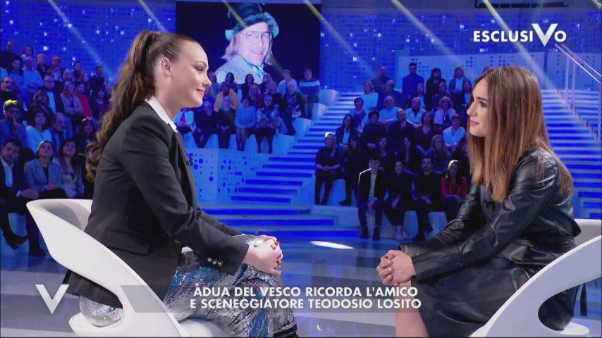 """Adua del Vesco a Verissimo: """"Io malata di anoressia, con ..."""
