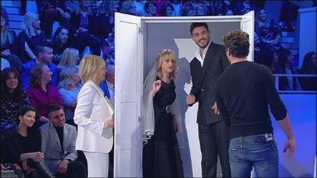 """Luciana Littizzetto nell'armadio """"di Cecilia"""" insieme a Francesco Monte"""