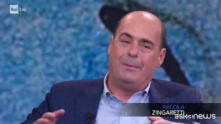 """Zingaretti: """"Voglio cambiare la sede nazionale del Pd"""""""