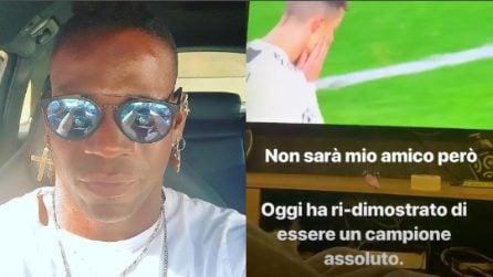 """""""Non sarà mio amico ma è un campione assoluto"""", le frasi di Balotelli su CR7 e sulla Juve"""