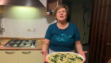 Orecchiette fatte in casa con le cime di rapa: la ricetta di nonna Maria