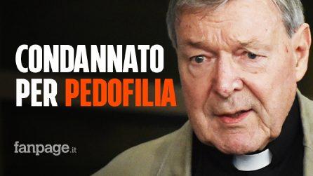 """Il cardinale George Pell condannato a 6 anni. Il giudice: """"Abusi umilianti su ragazzini 13enni"""""""