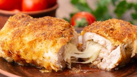 Chicken cordon bleu: the perfect idea for dinner!